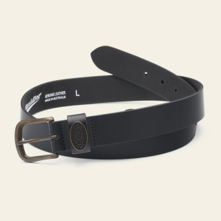 Leather Belt - Black belt-black_BELTBLK_F by Blundstone