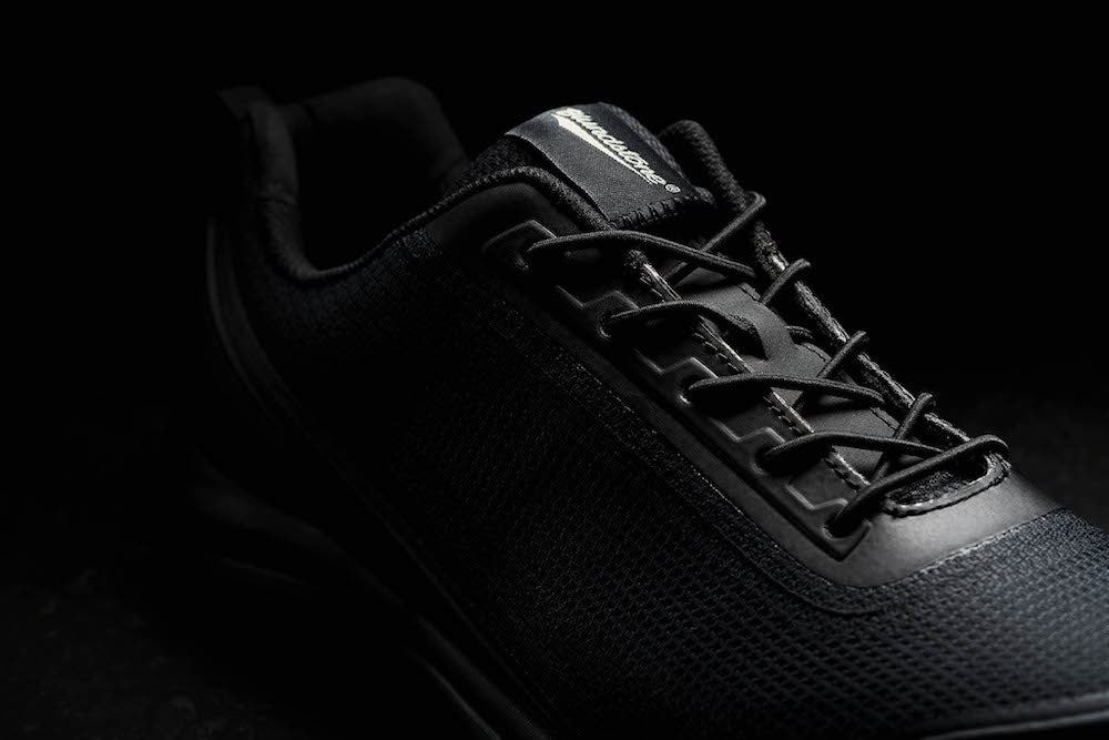 Close up of Blundstone 795 safety joggers